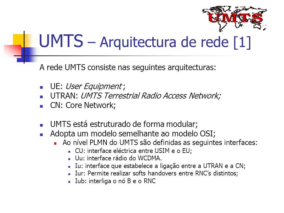 UMTS – Arquitectura de rede [1]